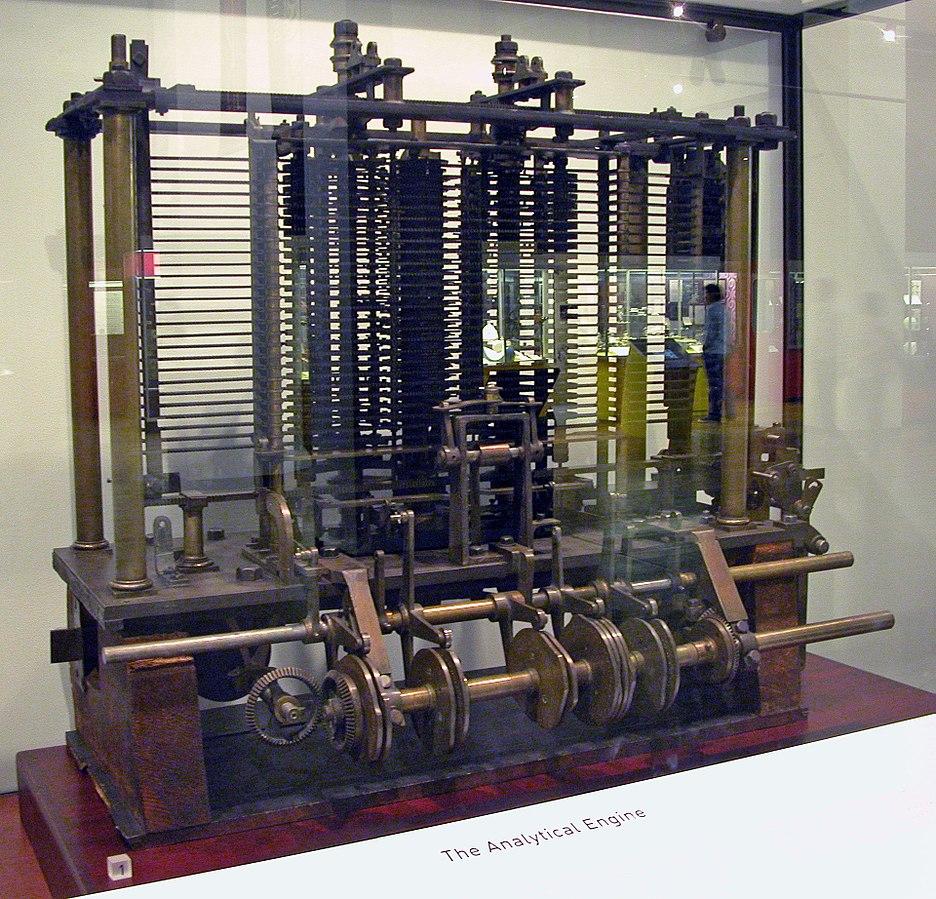 De Analytical Engine; een belangrijk instrument voor de herkomst van computer
