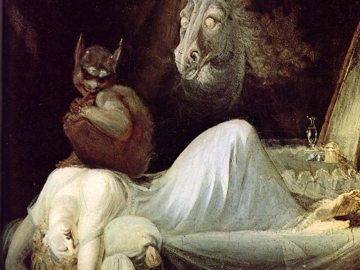 Etymologie van nachtmerrie: demonen