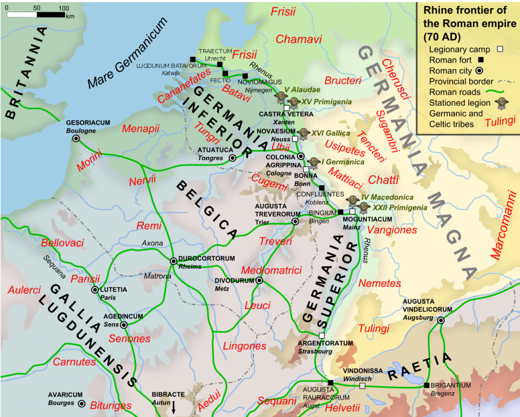 Germania Inferior en de betekenis achter de naam Nederland